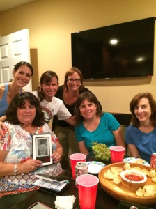 book club on phone aug 11